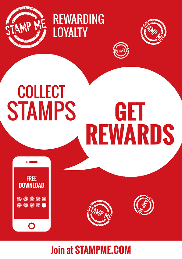 Download The Stamp Me App On Store Or Google Play And Start Collecting Its That Easy